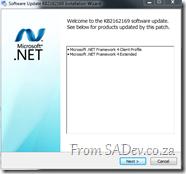 .NET 4 install