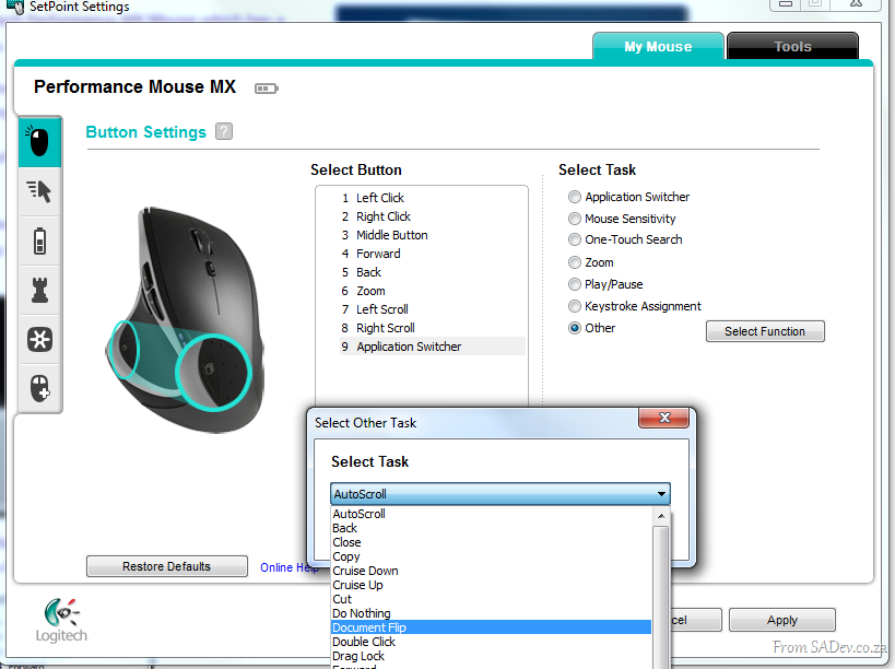 8fa646c358a Enabling Flip 3d with Logitech Performance MX Mouse | Robert MacLean